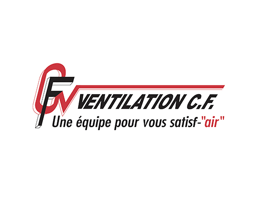 Logo officiel de CF Ventilation
